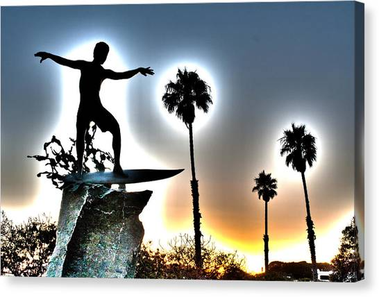 Canvas Print - Cardiff Kook by Ann Patterson
