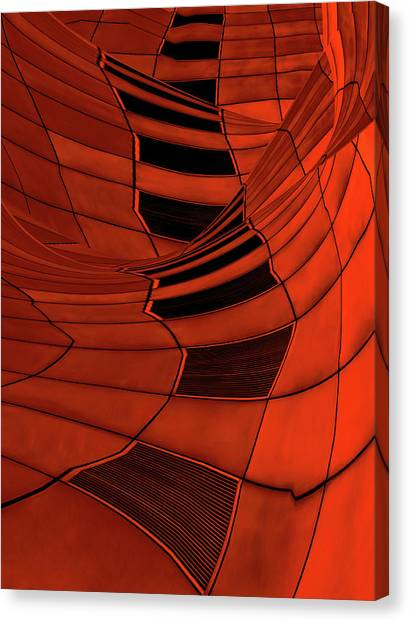 Distort Canvas Print - Carenza by Gilbert Claes