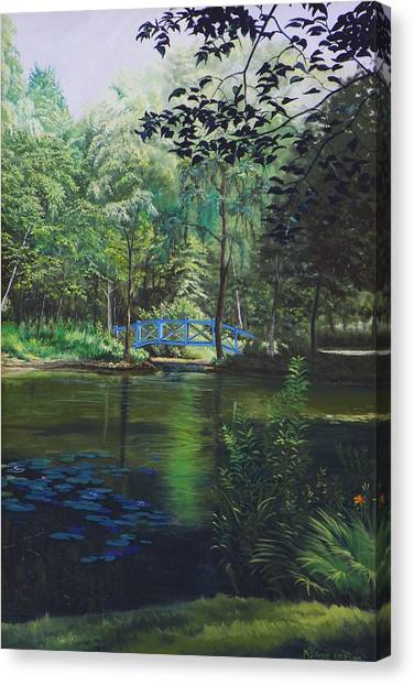 Carey's Pond Canvas Print by Kenneth Young