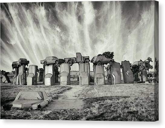 Carhenge Revival Canvas Print