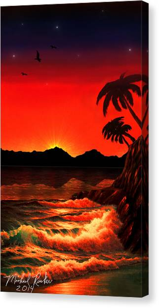 Canvas Print - Caribbean Islands by Michael Rucker