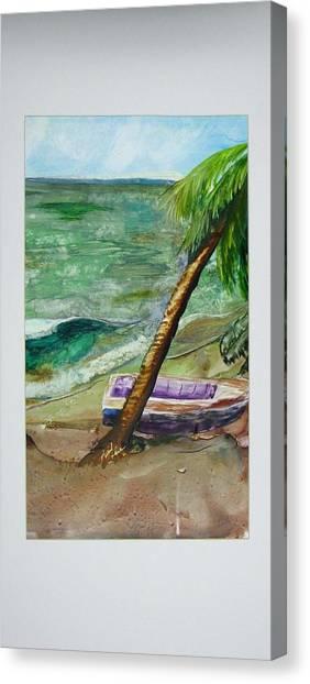 Caribbean Morning II Canvas Print