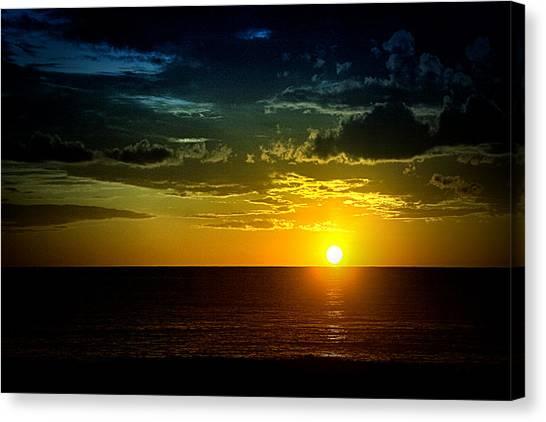 Caribbean Sunset ... Canvas Print