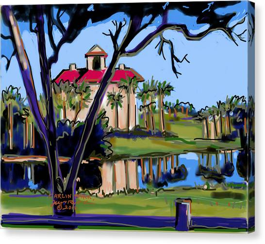 Carlin Park Canvas Print