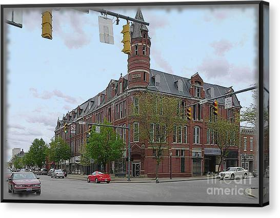 Carlisle Building -  A Chillicothe Landmark Canvas Print