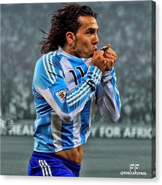 Fifa Canvas Print - Argentina by Rick Junor