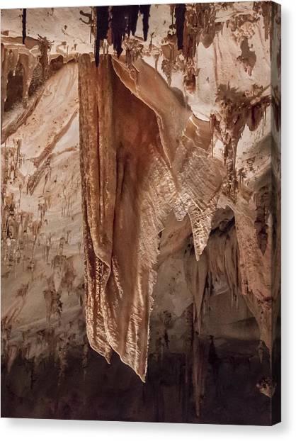 Carlsbad Caverns Canvas Print - Carlsbad Cavern Detail by Jean Noren