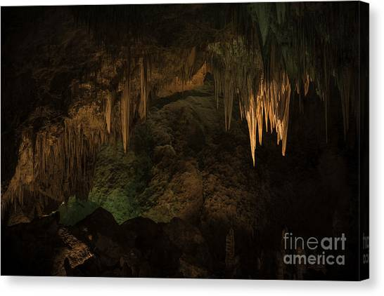 Carlsbad Caverns 1 Canvas Print by Richard Mason