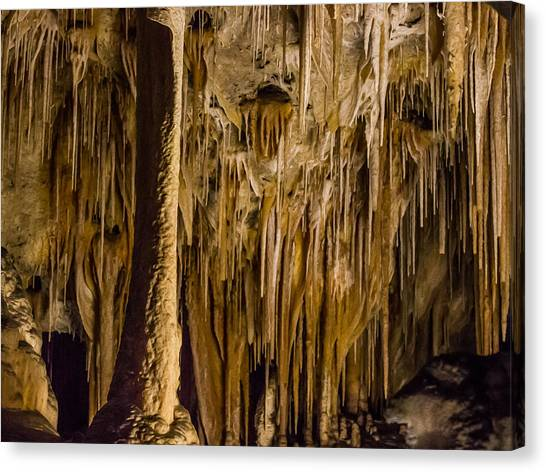 Carlsbad Caverns Canvas Print - Carlsbad Finery by Jean Noren