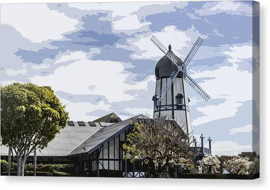 Carlsbad Windmill Canvas Print
