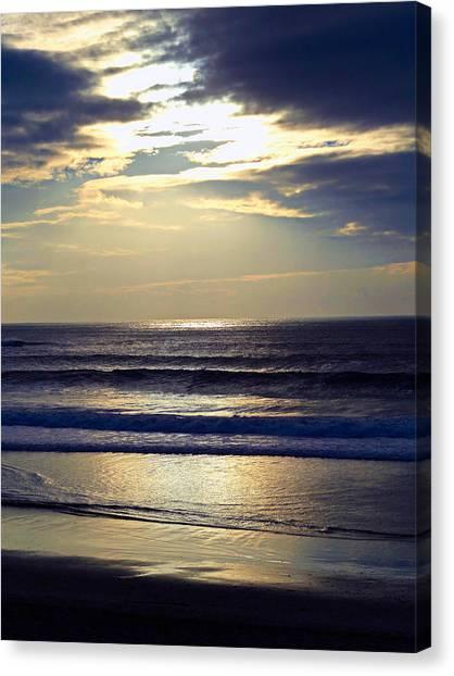 Carmel Beach Sunset Canvas Print