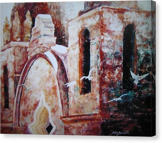 Carmel Mission Canvas Print