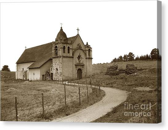Carmel Mission Monterey Co. California Circa 1890 Canvas Print