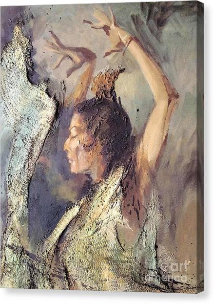 Carmen Amaya Vi Canvas Print by Zaafra David