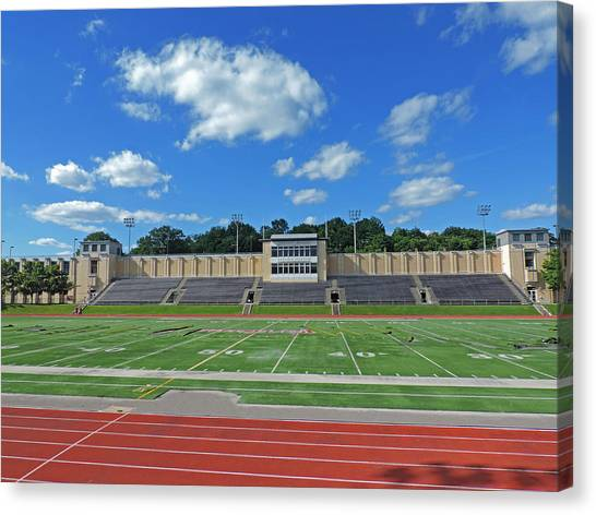 Carnegie Mellon University Canvas Print - Carnegie Mellon University Football Field by Cityscape Photography