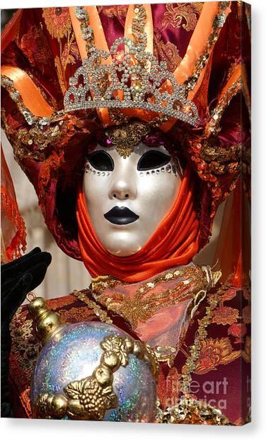 Carnevale Di Venezia 54 Canvas Print