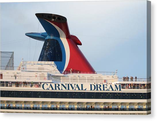 Carnival Dream Smokestack Canvas Print