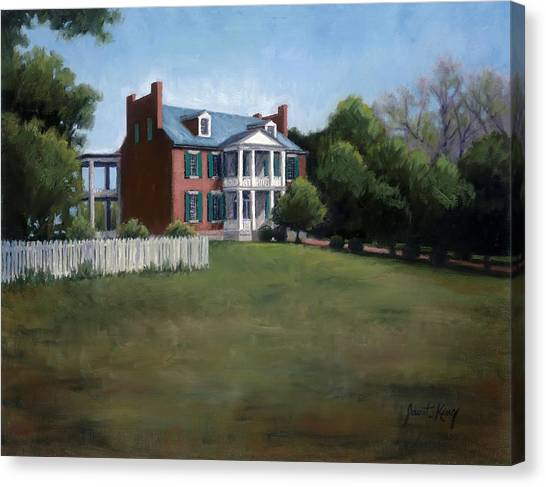 Carnton Plantation In Franklin Tennessee Canvas Print