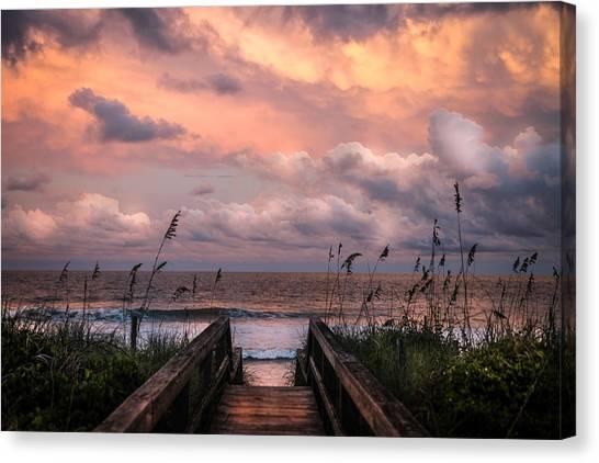 Salt Water Canvas Print - Carolina Dreams by Karen Wiles