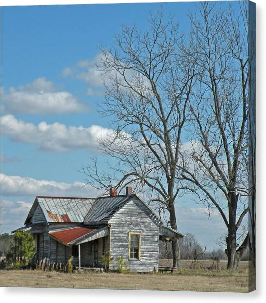 Carolina Farm House Canvas Print