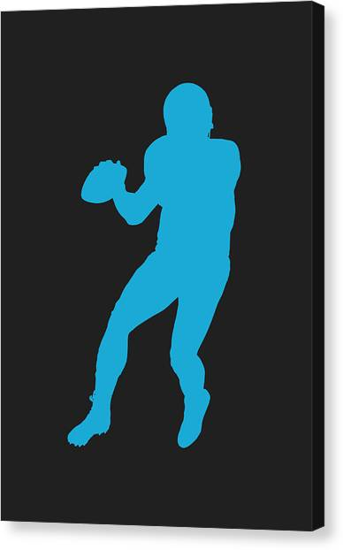 Cam Newton Canvas Print - Carolina Panthers Cam Newton by Joe Hamilton