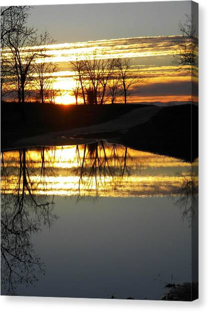 Carolina Sunrise Canvas Print