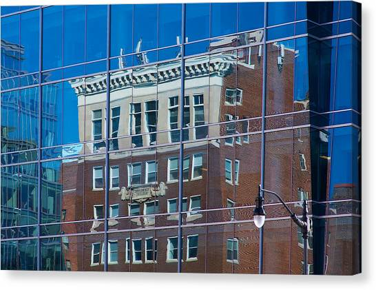 Carpenters Building Canvas Print