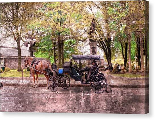 Carriage Rides Series 03 Canvas Print