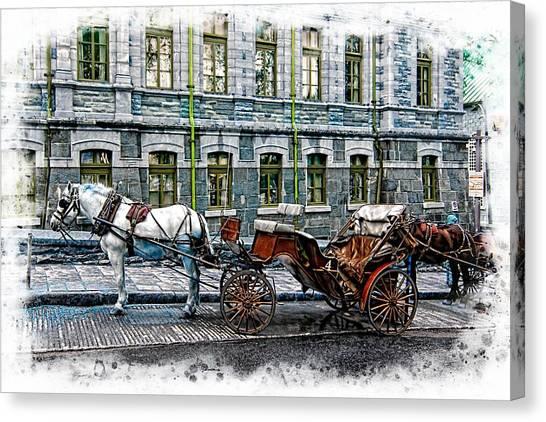 Carriage Rides Series 06 Canvas Print