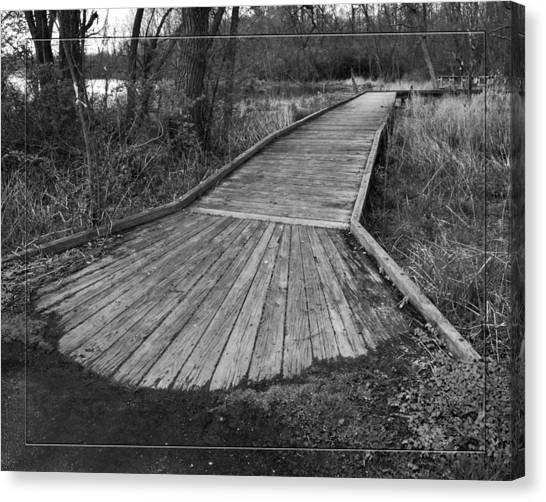 Carriage Hill Boardwalk B Canvas Print by Robert Clayton