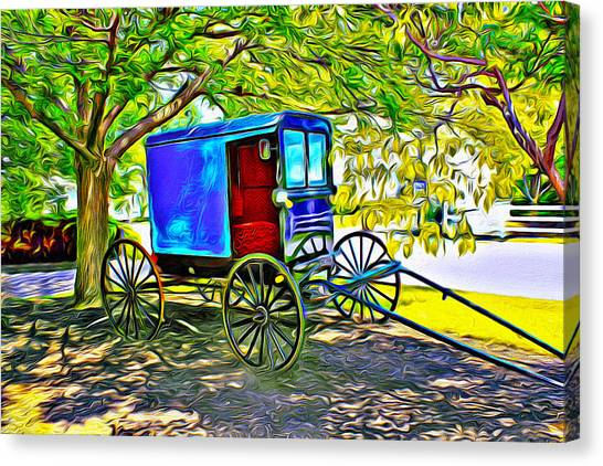 Amish Carriage Canvas Print