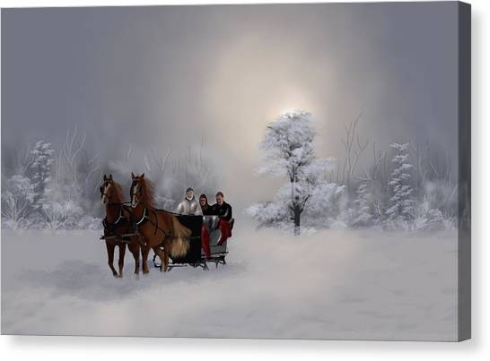 Carriage Canvas Print