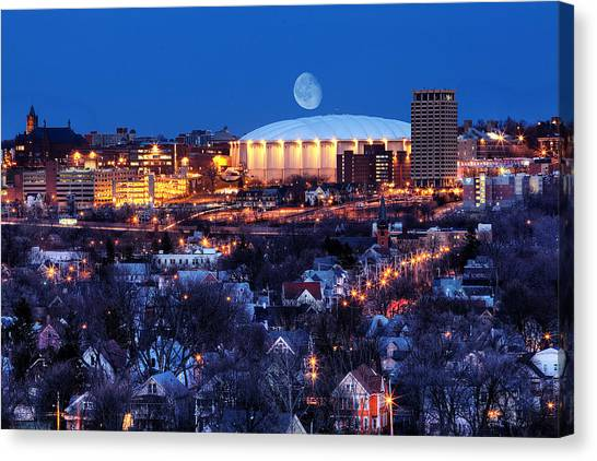 Carrier Dome Canvas Print