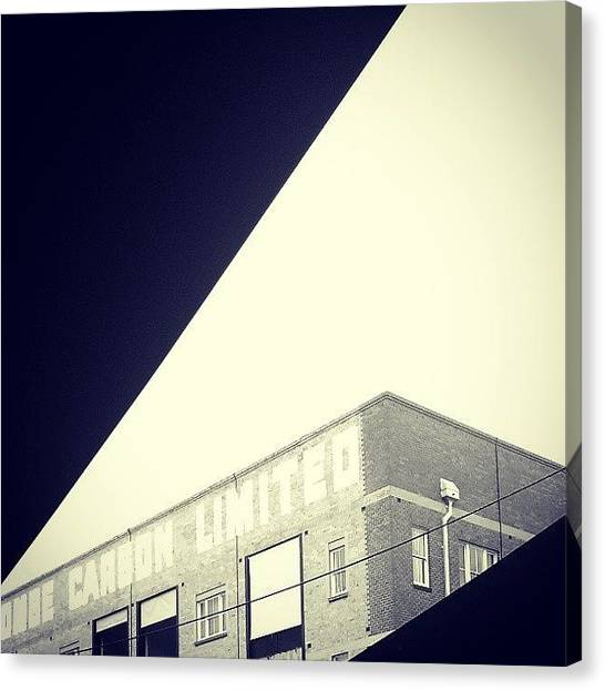 Warehouses Canvas Print - #carson #woolstores #brisbane #newstead by Jason Emmett