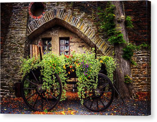 German Canvas Print - Cart Of Colors by Ryan Wyckoff