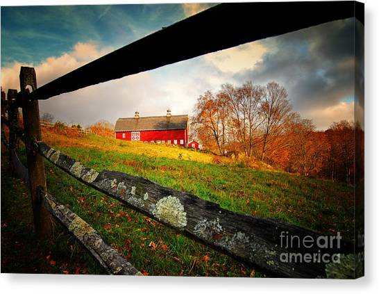 Carter Farm Connecticut Canvas Print