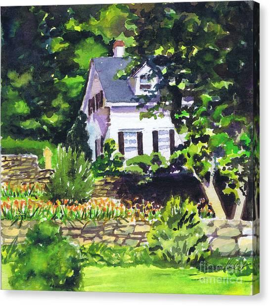 Casa Peligro Canvas Print