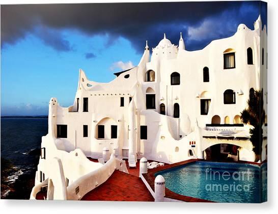 Casa Pueblo Al Mar Canvas Print