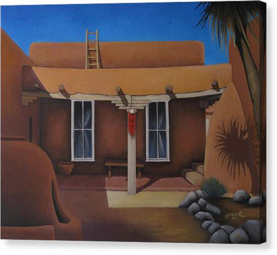 Casa San Ysidro Canvas Print