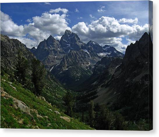 Cascade Canyon North Fork Canvas Print