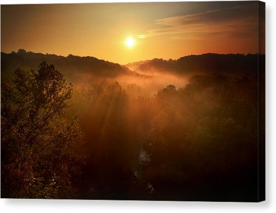 Ohio Valley Canvas Print - Cascade Valley by Rob Blair