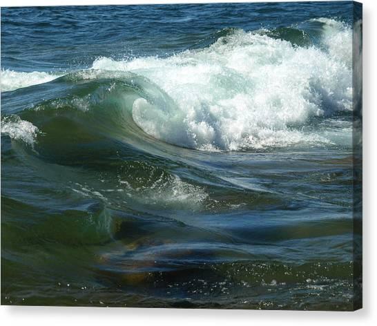 Cascade Wave Canvas Print