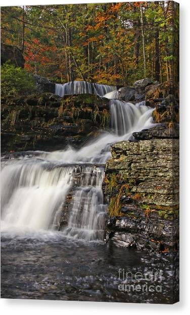 Cascading Forever Canvas Print