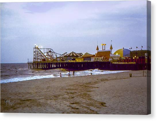 Casino Pier Boardwalk - Seaside Heights Nj Canvas Print