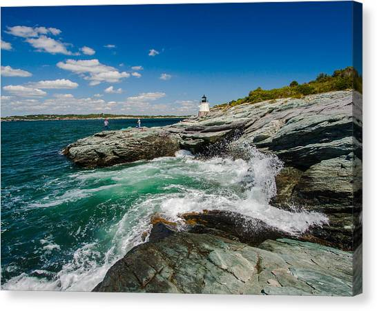 Castle Hill Lighthouse Canvas Print