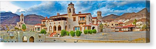 Mojave Desert Canvas Print - Castle In A Desert, Scottys Castle by Panoramic Images