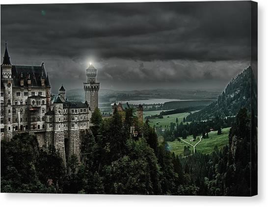 Castle Neuschwanstein II Canvas Print