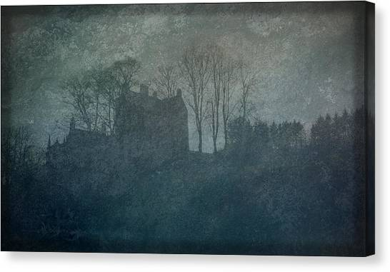 Castle On The Hill Canvas Print