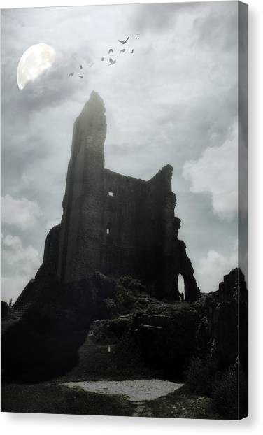 Fortification Canvas Print - Castle Ruin by Joana Kruse