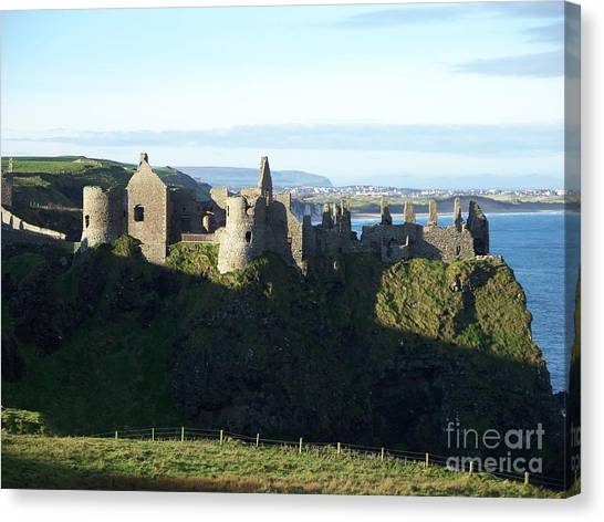 Castle Ruins Canvas Print
